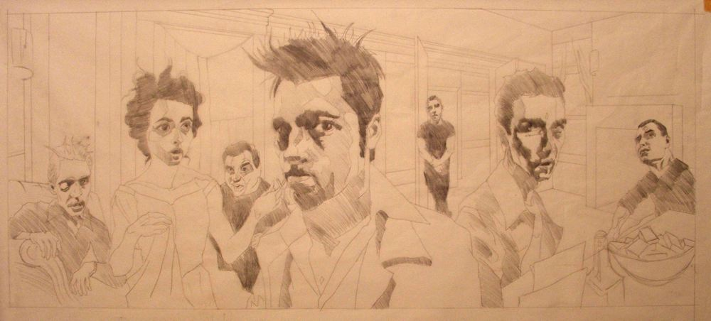 Fight Club - sketch